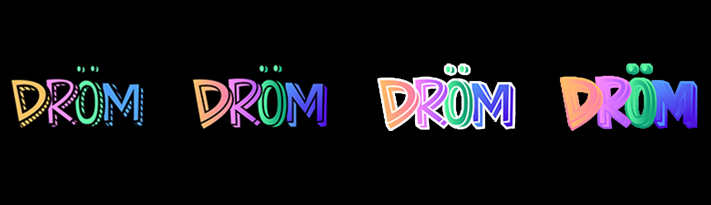 Drom Logo Sketch x4 XLl